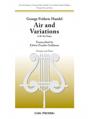 Handel, G.F. (trans. Goldman): Air and Variations for Trumpet Trio and Piano
