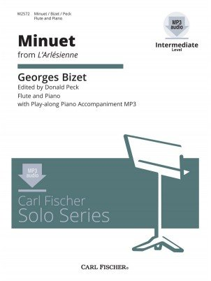 Bizet, Georges: Minuet from L'Arlesienne for Flute & Piano