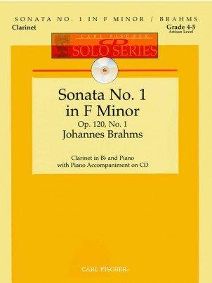 Brahms, Johannes: Sonata No. 1 in F Minor for Clarinet & Piano