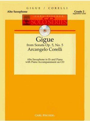 Corelli, Arcangelo: Gigue for Alto Saxophone & Piano