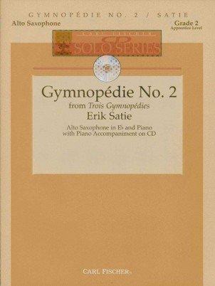 Satie, Erik: Gymnopedie No. 2 for Alto Saxophone & Piano