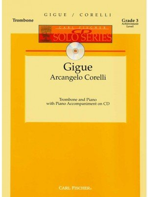 Corelli, Arcangelo: Gigue for Trombone & Piano
