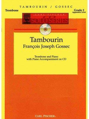 Gossec, Francois: Tambourin for Trombone & Piano