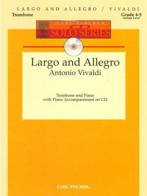 Vivaldi, Antonio: Largo and Allegro for Trombone & Piano