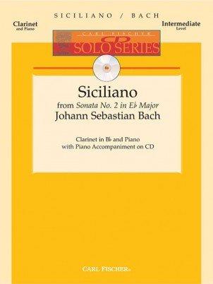 Bach, J.S.: Siciliano from Sonata No. 2 in Eb for Clarinet & Piano