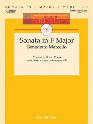 Marcello, Benedetto: Sonata in F Major for Clarinet & Piano