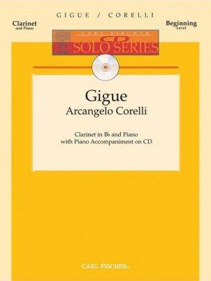 Corelli, Arcangelo (ed. Peck): Gigue for Clarinet & Piano