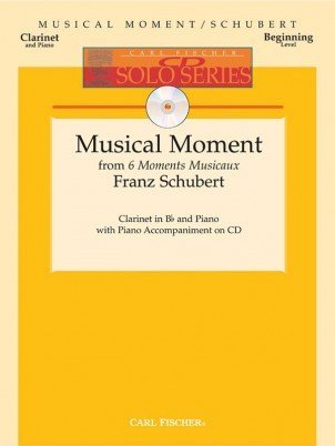 Schubert, Franz (arr. Webb): Musical Moment from 6 Moments Musicaux for Clarinet & Piano