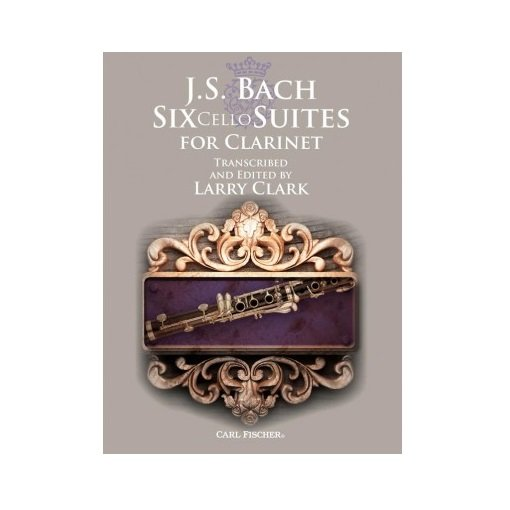 Bach, J.S. (Clark): Six Cello Suites for Clarinet