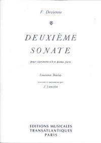 Devienne, Francois: Deuxieme Sonata for Clarinet & Piano