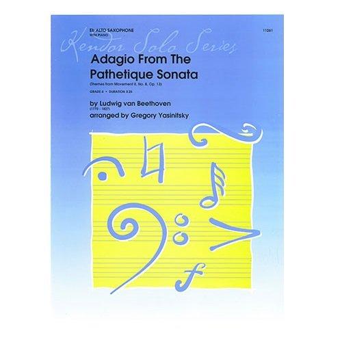 Beethoven (arr. Yasinitsky): Adagio from Pathetique Sonata for Alto Saxophone