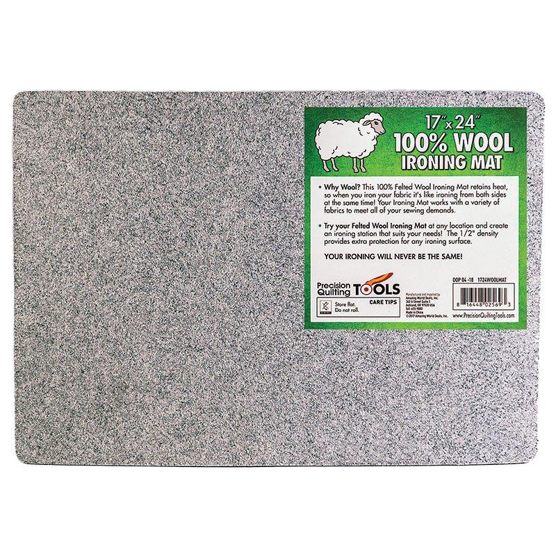 17 x 24 100% Wool Ironing Mat
