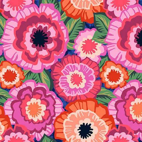 Marisol 1222-22 Pink Packed Floral By Blank Fabric