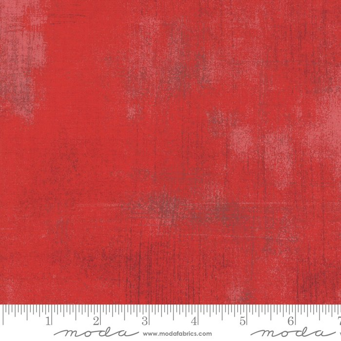 30150-265 Grunge Basics Cherry, red