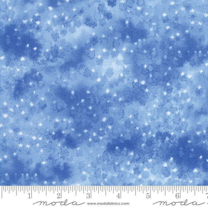 Fields of Blue 33455-12 Bluebonnet by Moda