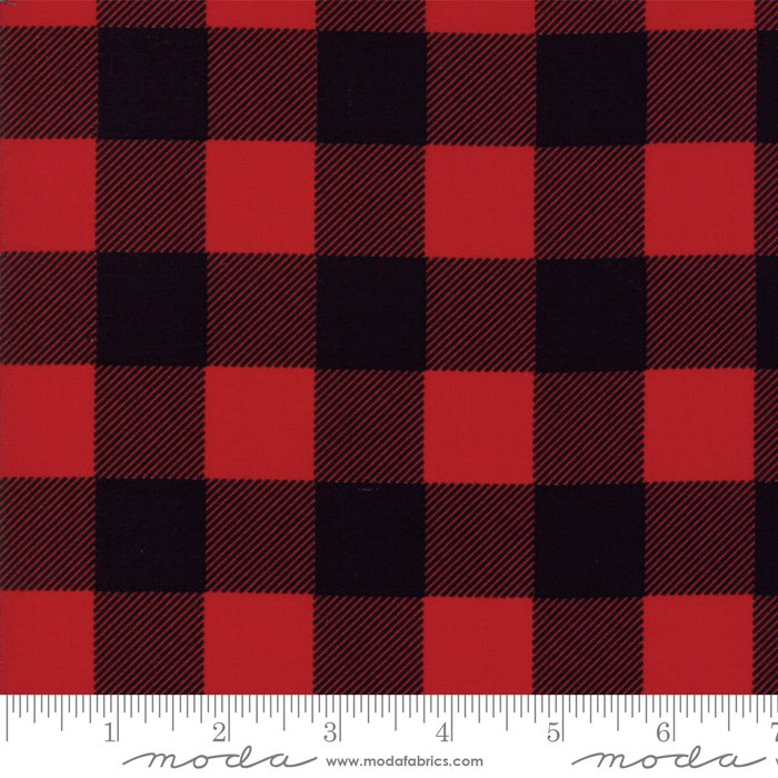 Essentially Yours Buffalo Check Black Red