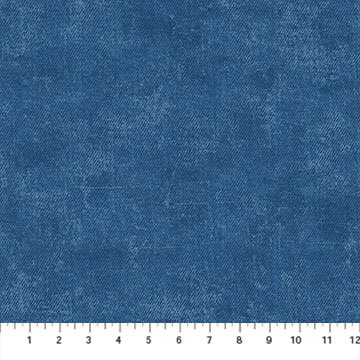 23383-46 Denim Twill By Northcott Fabrics - Got the Blues, blue