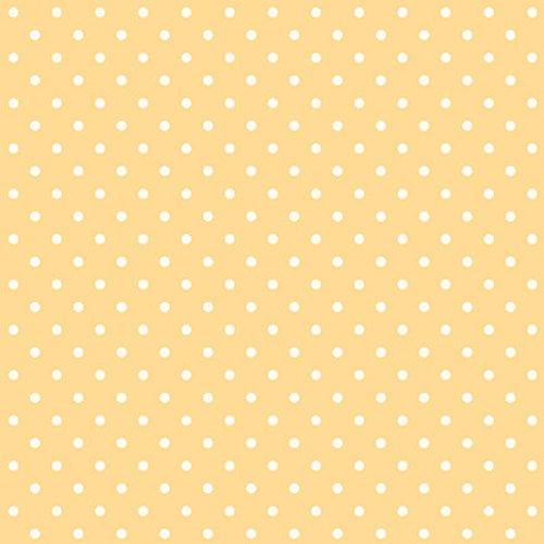 2395-44 Spiced Garden Saffron Dot yellow white dot