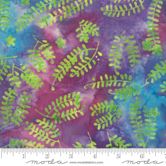 Moda 4352 14 Bahama Sunset Batiks , purple, blue