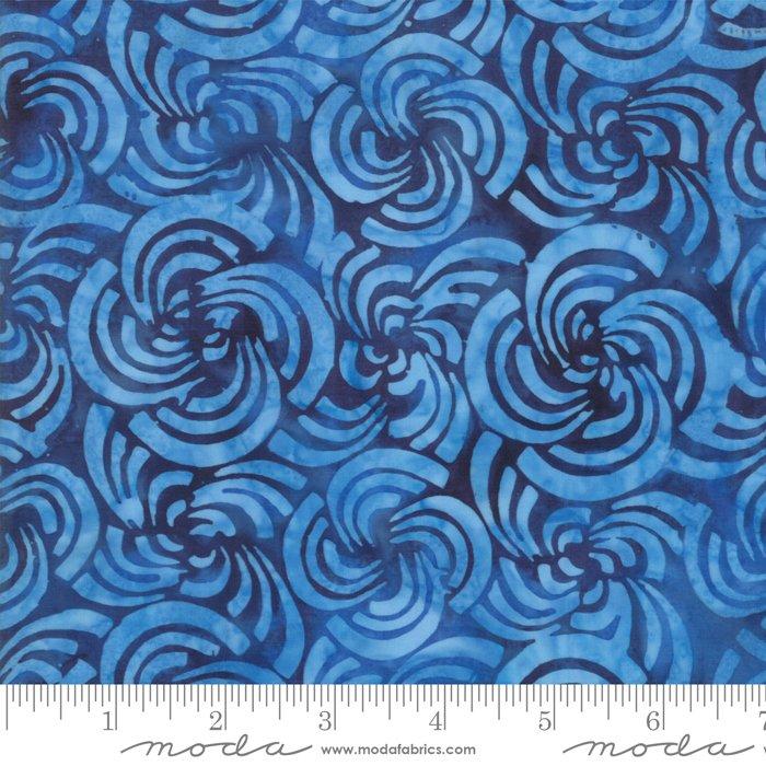 Moda 4352 17 Bahama Ocean Batiks, blue
