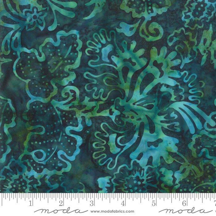 Moda 4352 37 Bahama Lagoon Batiks, blue green