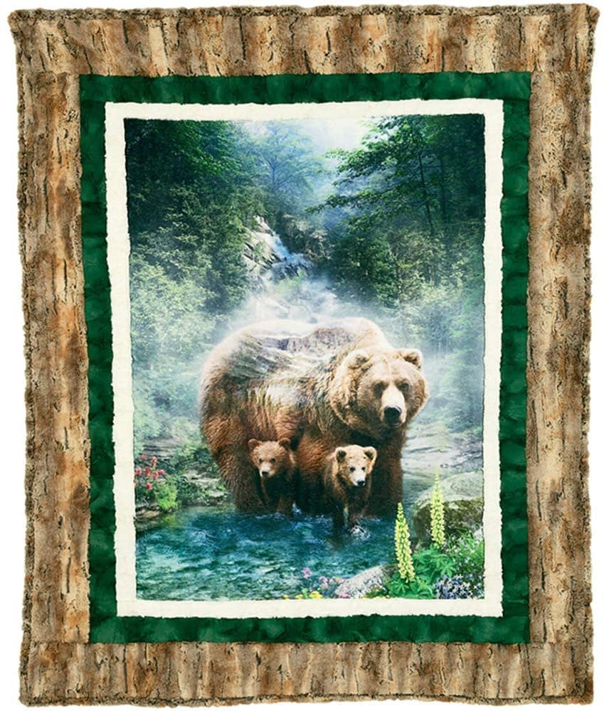 Brother Bear Cuddle Kit, brown, green