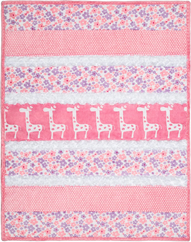 Bambino Sugar & Spice Cuddle Kit  pink and white