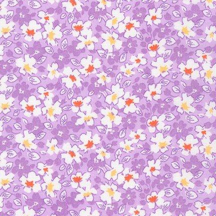 Darlene's Favorites Purple and White Flowers