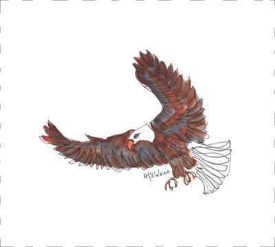BD073 Eagle Quilt block 9 x 10