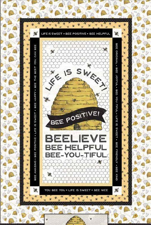Life is Sweet Quilt Kit 39 x 58 Binding & Pattern Included, Riley Blake Designs