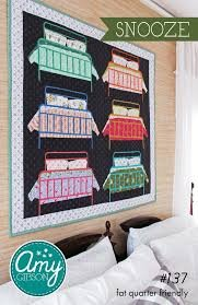 Quilt Kit Bungalow Snooze 43257qk by Amy Gibson, Windham Fabrics