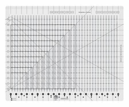 CGRGE1XL Creative Grids Stripology XL Ruler