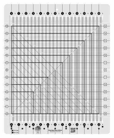 CGRGE2 Creative Grids Stripology Squared Quilt Ruler