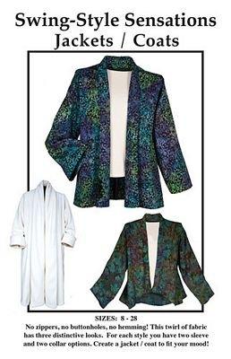 Swing-Style Sensation, Jacket Pattern