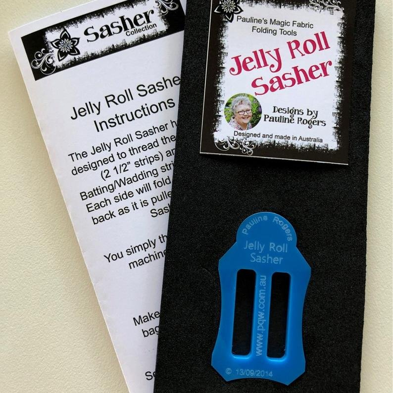 Jelly Roll Sasher by Pauline Rogers