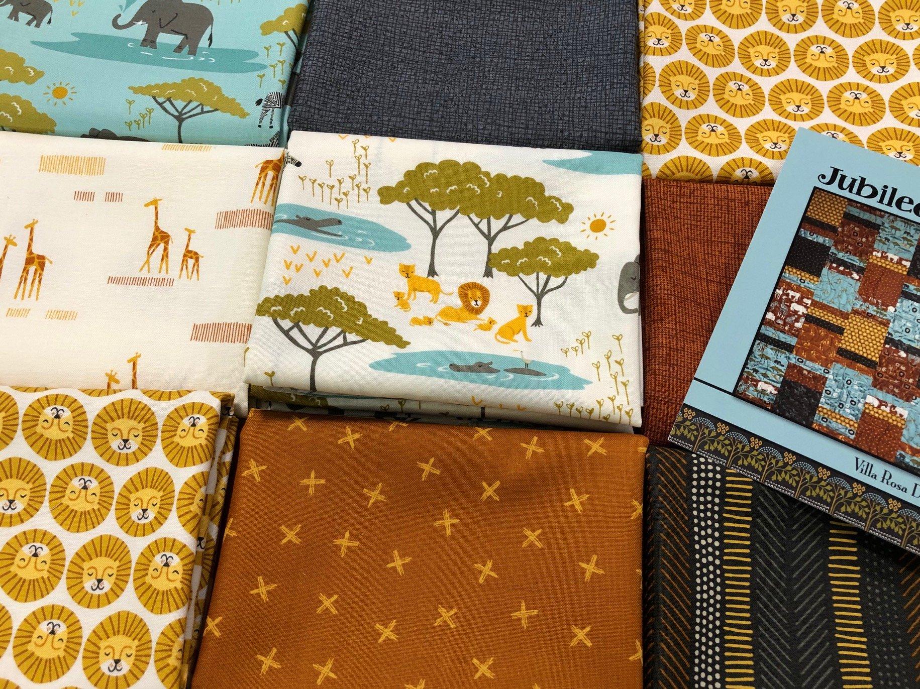Safari Life Jubilee Quilt Kit 45 x 60