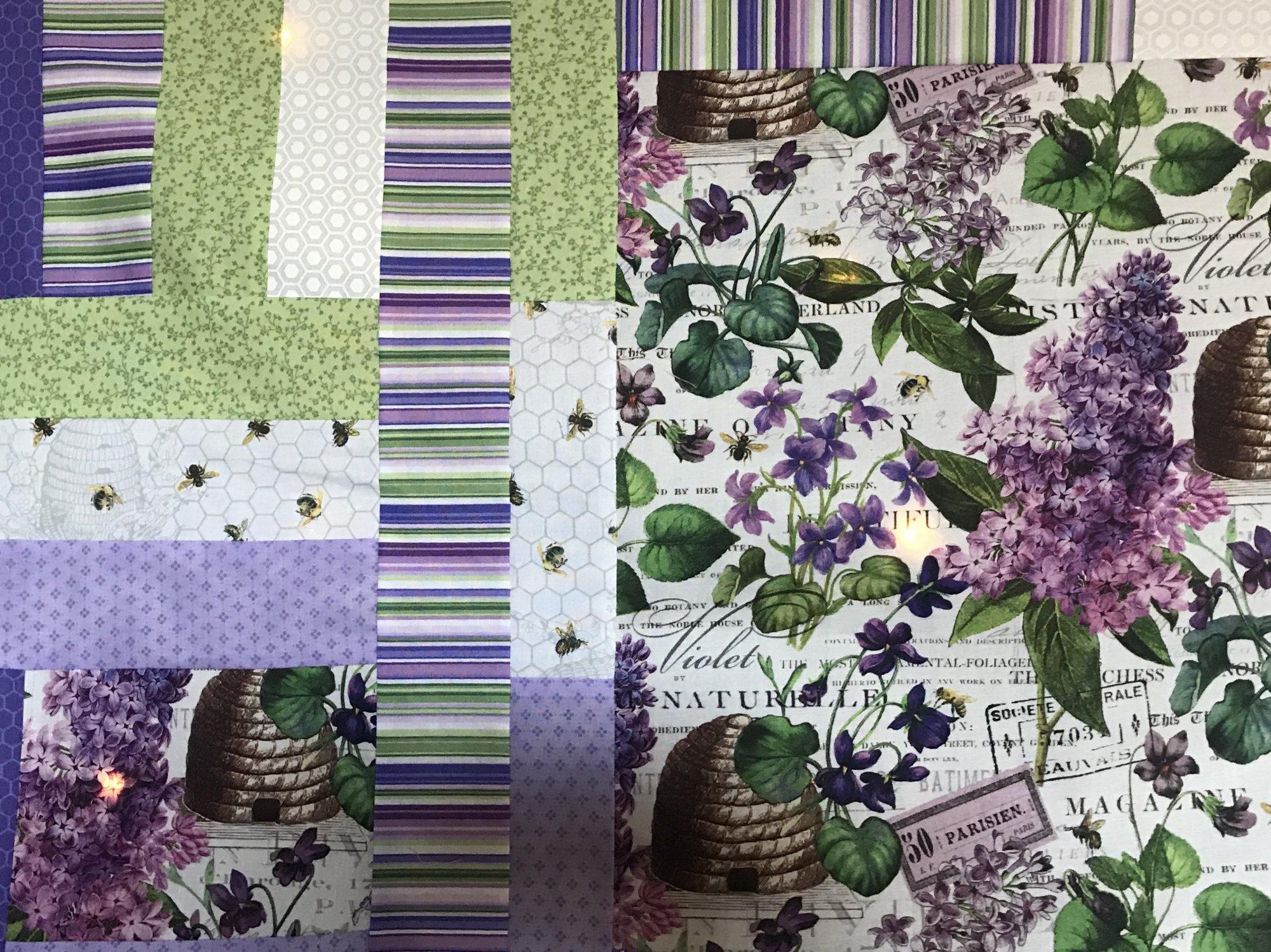 Chelsea Beehive Quilt Kit 69 x 87