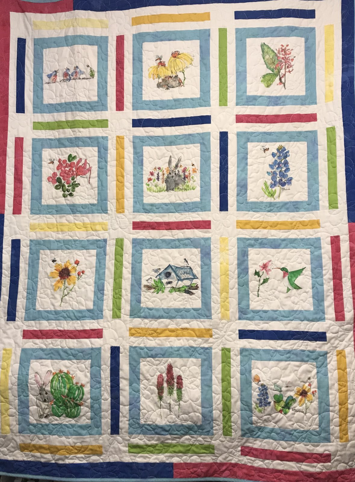 Heavenly Spring Quilt Kit 50 x 70