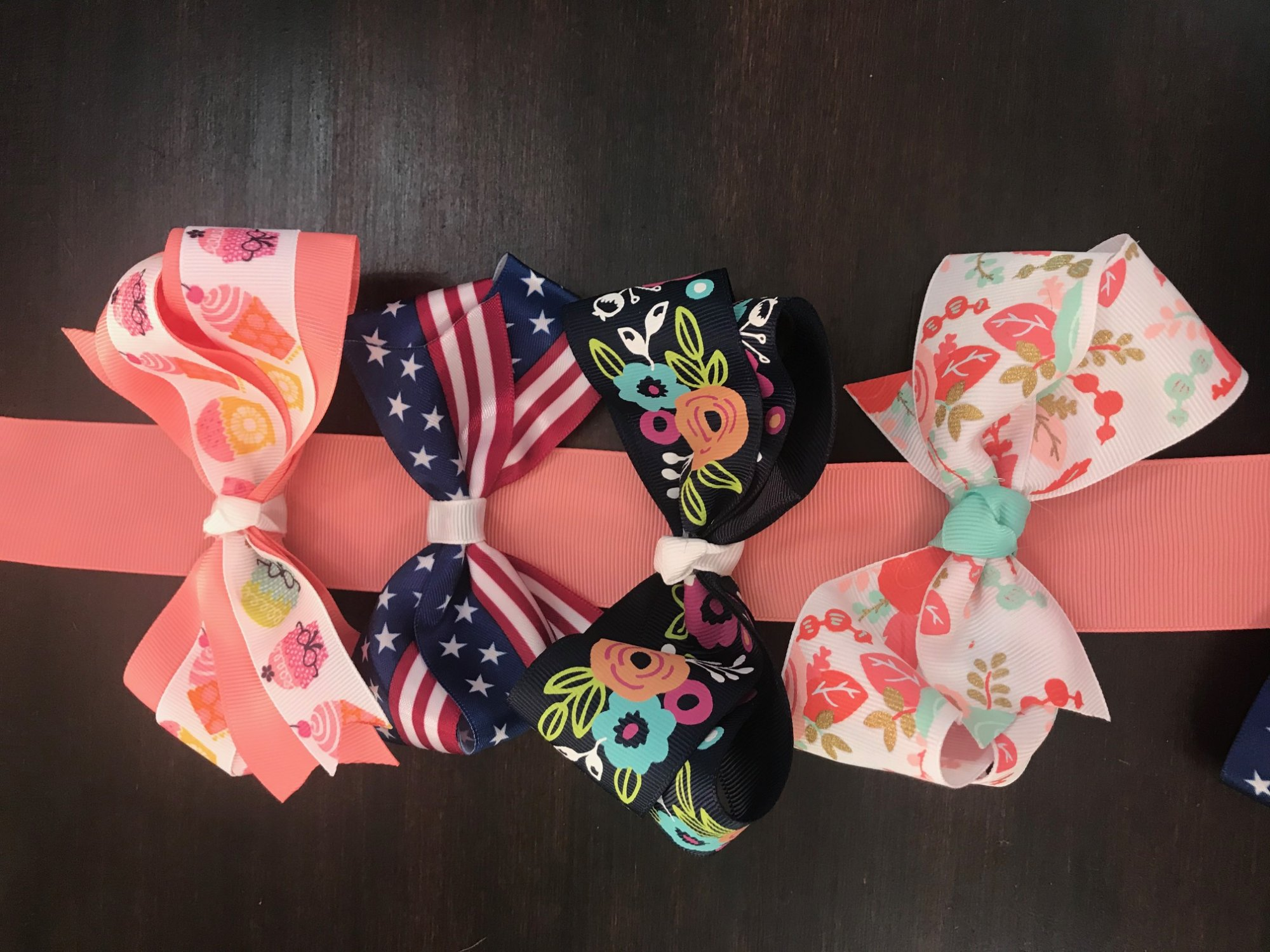 Beautiful Hair Bows by Crafts by Heather