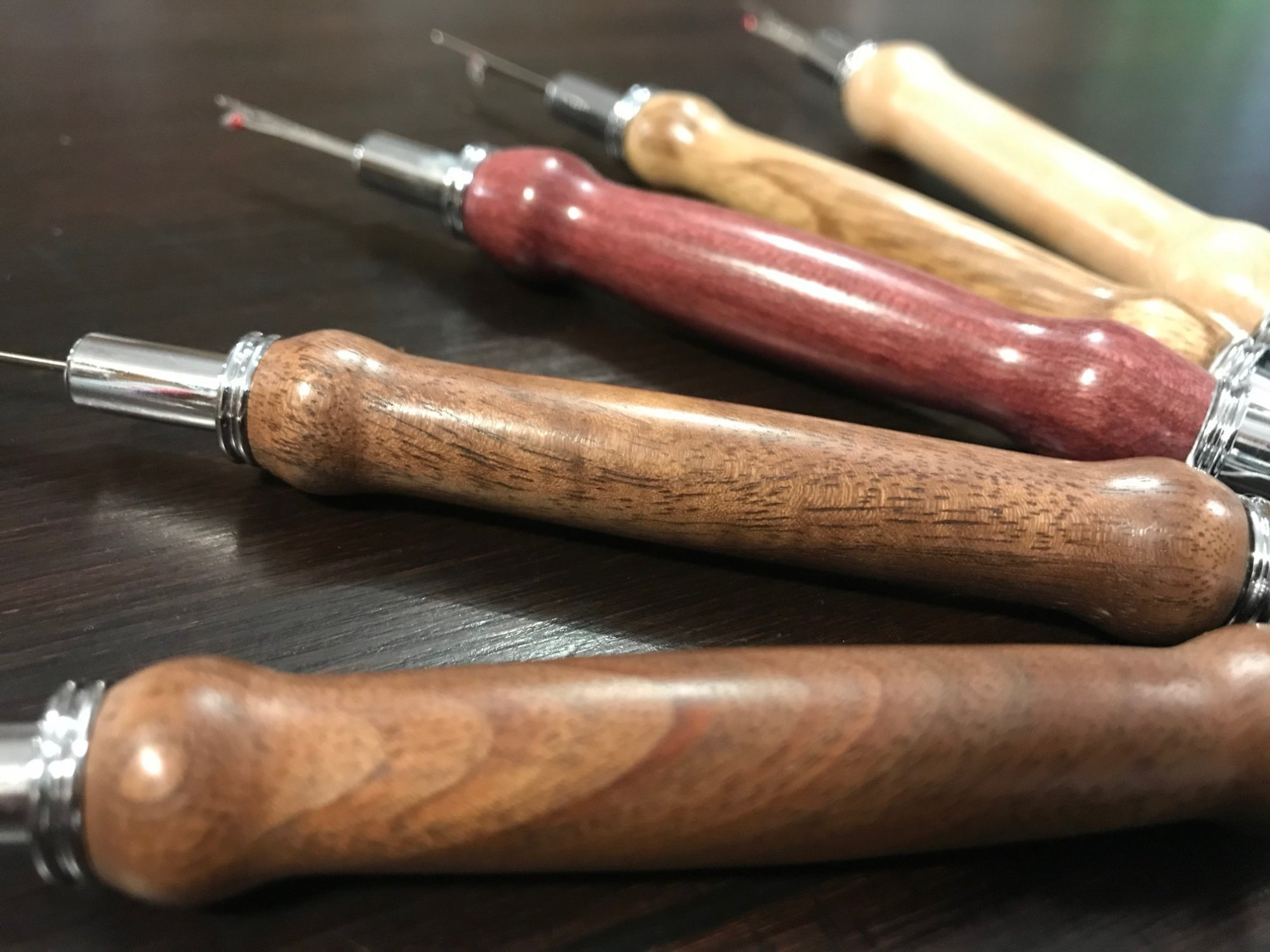 Wood Seam Ripper Custom and Awl made by Pens By Pugh