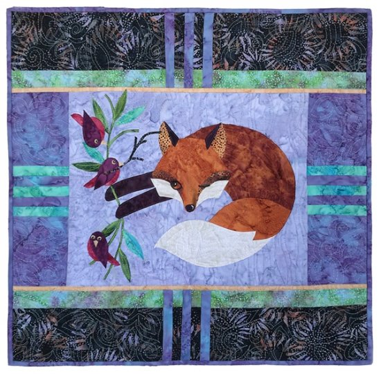 Jesting Insticts Fabric Kit by Java House Quilts and Hoffman Batiks