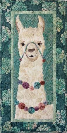 Alejandro the Llama by McKenna Ryan Pattern only 16 3/4x33