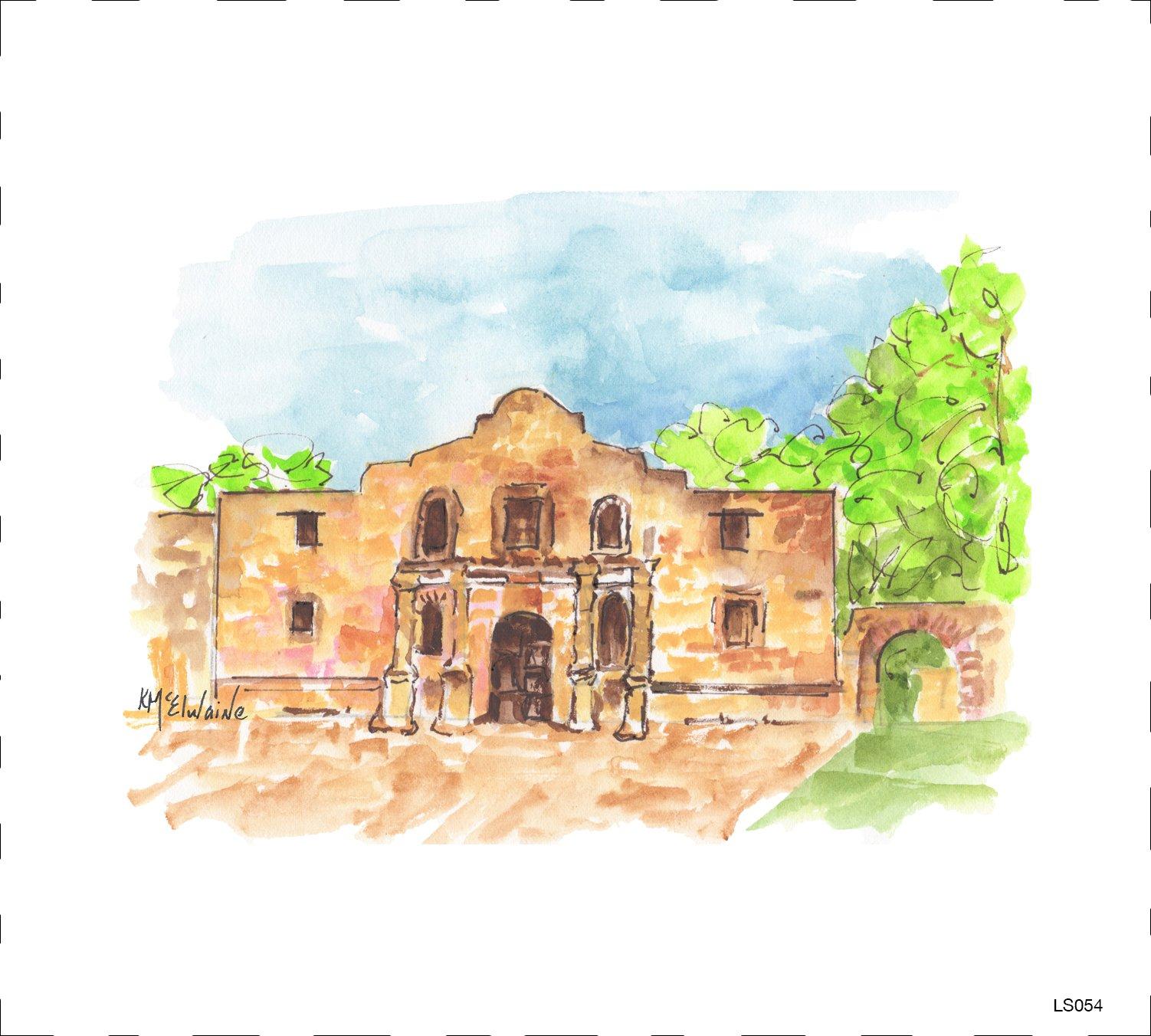 LS054 Alamo Quilt block 9 x 10