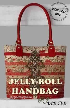 RJD 229 Jelly-Roll Handbag Pattern