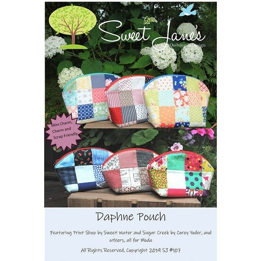 Daphne Pouch by Sweet Jane's Quilting Designs