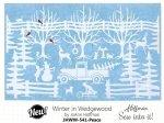 Winter in Wedgewood by JoAnn Hoffman  JHWW 541-Peace Kit