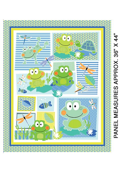 07933-99B Toadily Cute Panel Multi, Toadily Cute Collection