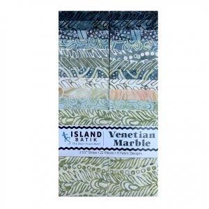 ST-ISBVEM 1/2 Stack, Venetian Marble, 22pcs, 2/5 Strips