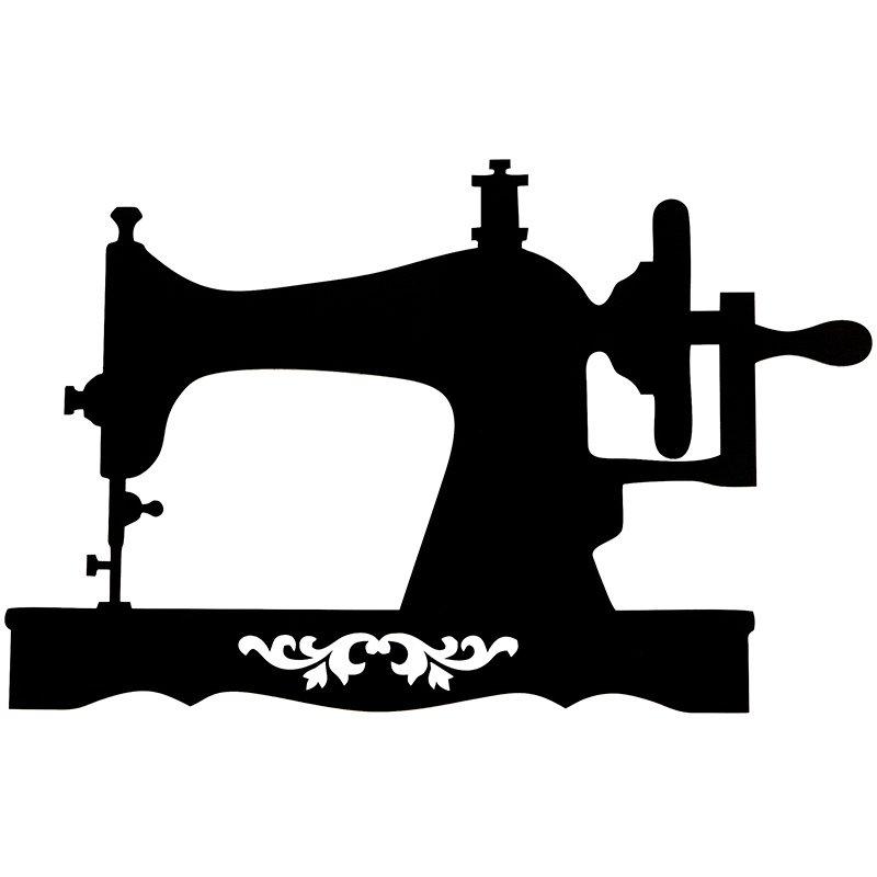 Wood Sign Sewing Machine