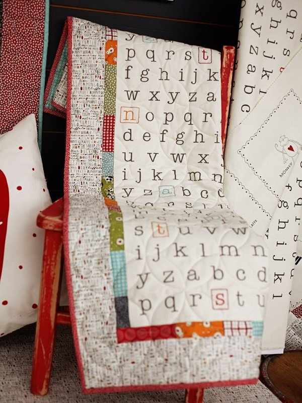 ABCs & 123s Fabric Kit & Pattern